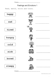 Connectives And Conjunctions Worksheets 41 Free Esl Feelings And Emotions Worksheets