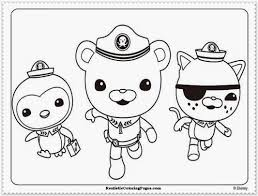 cool design octonauts coloring pages the octonauts on coloring