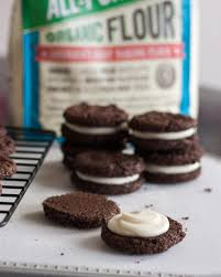 chocolate peppermint sandwich cookies goodie godmother a
