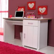 bedroom design comfortable pink fur rug with exciting girls desks