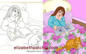 behind the scenes sketches and illustrations for children u0027s book
