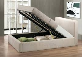 chic white leather ottoman storage bed for house design u2013 keepcalm me