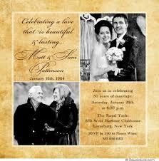 50th wedding anniversary photo album magnificent diy 50th wedding anniversary invitations