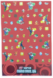 mario wrapping paper mario bros