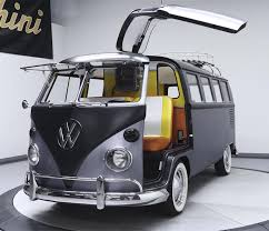 volkswagen bus art if a delorean and a volkswagen microbus had a child