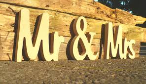 Mr And Mrs Sign For Wedding Unpainted Mr U0026 Mrs Wedding Sign Custom Wooden Wedding Table