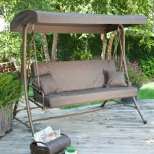 Swinging Outdoor Chair Outdoor Furniture Swings Canopy Roselawnlutheran