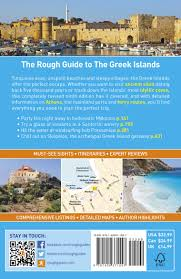Map Of Santorini Greece by The Rough Guide To The Greek Islands Rough Guides Amazon Co Uk