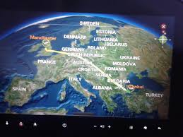 Star Alliance Route Map Review Of Turkish Airlines Flight From Manchester To Istanbul In