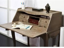 bureau secr aire bois secrétaire souverain en bois de manguier aspect vieilli