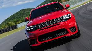 jeep hawk track jeep grand cherokee trackhawk 2017 review by car magazine