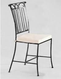 chaises en fer forg chaise en fer forgé tables de salle à manger