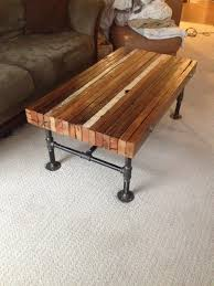 Industrial Coffee Table Diy Coffee Table How To Diy Industrial Coffee Table Pinterest