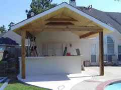 Concrete Patio Houston Affordable Shade Of Houston Patio Covers Houston Covered Patio