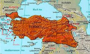 map iran iraq on erdogan draws map big turkey with areas