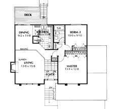 house plan 3 beds 2 00 baths 940 sq ft plan 87 302