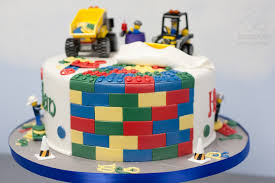 construction lego birthday cake gainesville bearkery bakery