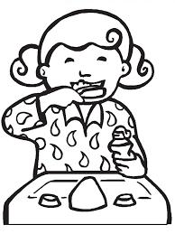 brobee foofa brushing teeth coloring pages