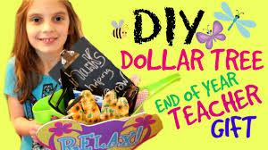Teacher Gift Basket Diy Dollar Tree Gift Basket For Teachers Youtube