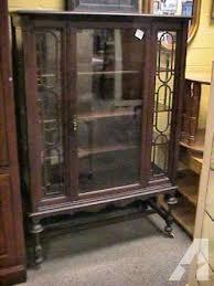 dark wood china cabinet dark wood antique hutch china cabinet book shelf for sale in