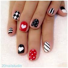 25 best black white nails ideas on pinterest shellac nail art