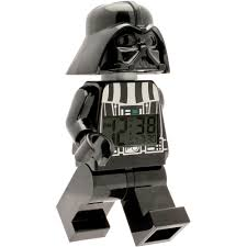 Lego Darth Vader Led Desk Lamp Lego Star Wars Darth Vader Fig Clock Walmart Com