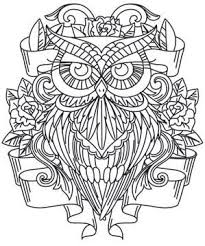 584 best pattern owls images on pinterest coloring books