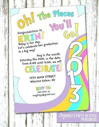 oh the places you ll go graduation oh the places you ll go invitations 4545 and oh the places go