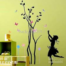 wall stickers trees butterfly bedroom dining living