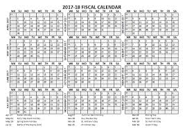 2017 fiscal calendar template starts at april free printable