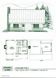 Small Cabin Floor Plans Luxury Simple House Plans To Build