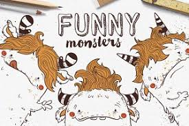 monster letters photos graphics fonts themes templates