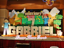 minecraft birthday backdrop search aidan b day