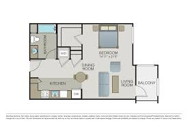 floor plans park20 one bedroom