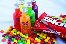 skittles vodka party favors holly u0027s helpings