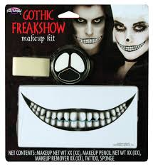 spirit halloween carle place freakshow faces mu kit assortment halloween