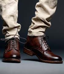 mens tan motorcycle boots men u0027s leather boots wingtip cap toe rugged bed stu