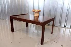 vintage retro mid century mogens kold danish teak coffee table