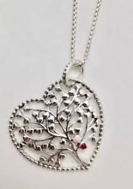 valentines necklace pandora tree of necklace w pandora tag box 396582enmx