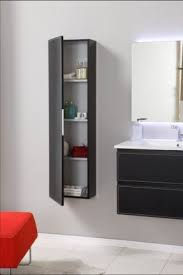 Bathroom Wall Mounted Shelves Wall Mounted Linen Cabinet Foter