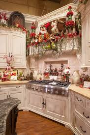 christmas decorations for kitchen cabinets top 40 holiday decoration ideas for kitchen christmas celebration