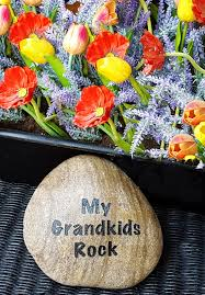 Where To Buy Rocks For Garden by Christmas Gift For Mom My Grandkids Rock Name Rocks