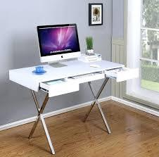Black And Chrome Computer Desk Wondrous Black And Chrome Computer Desk Decor Navassist Me