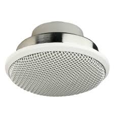 Flush Ceiling Shower Head by Audix M70w Flush Mount High Output Ceiling Mic For Distance Miking