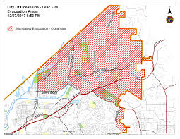 Sdge Outage Map City Of Oceanside Fire Conditions Update 9 30 Pm The Vista Press