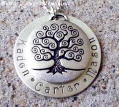 mothers necklaces s sted necklaces birthstone name jewelry metal