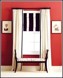 shower curtain with black trim coffee tables and white sheer