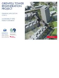 grenfell tower sustainability and energy statement hvac water