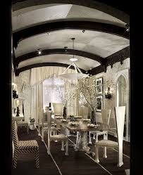 interior black and white dining room decor with fantastic