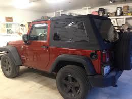 wrangler jeep 2 door bestop wrangler trektop nx glide black diamond 54922 35 07 17